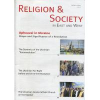 Upheaval in Ukraine. Shape and Significance of a Revolution. Religion &Society in East and West. 5-6/2014 Vol.42. Zurich. 47 s. Eng.